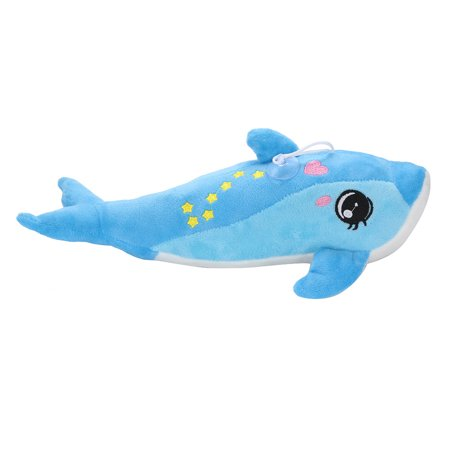 DZT1968 Creative Night Light LED Stuffed Animals Lovely Dolphin Glow Plush Xmas - Cool Glow In The Dark Stuff