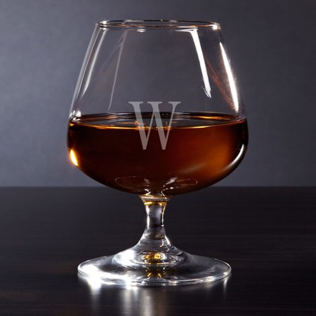 - Home Wet Bar Cognac Personalized 13 oz. Brandy Glass