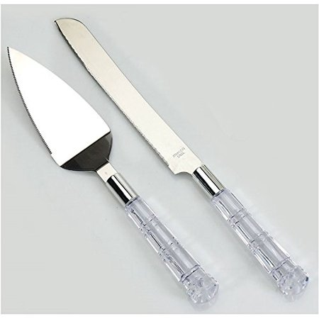 DIY Wedding Koyal Wholesale Cake Sever and Knife Set Wedding Cake Knife, Birthday, Baptism, Mis Quince, Sweet 16 Cake Cutting Set