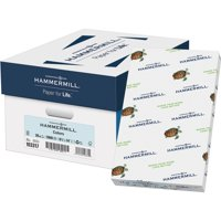 Hammermill, HAM103317CT, Colors Recycled Copy Paper, 5000 / Carton, Blue