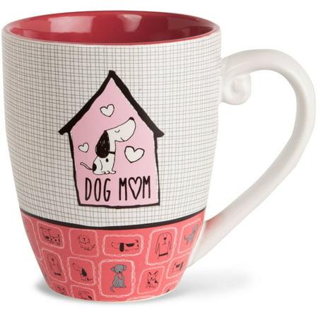 Pavilion - Dog Mom High Quality Ceramic Extra Large Coffee Mug Tea Cup 20 oz ()