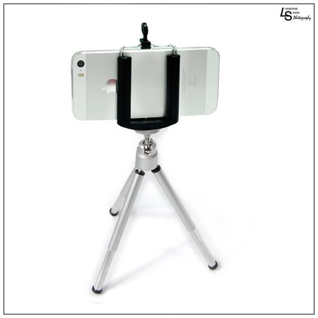Portable Lightweight Mini Tripod Stand For Digital Camera And Smart Phones With Holder For Photography By Loadstone Studio Wmls0396