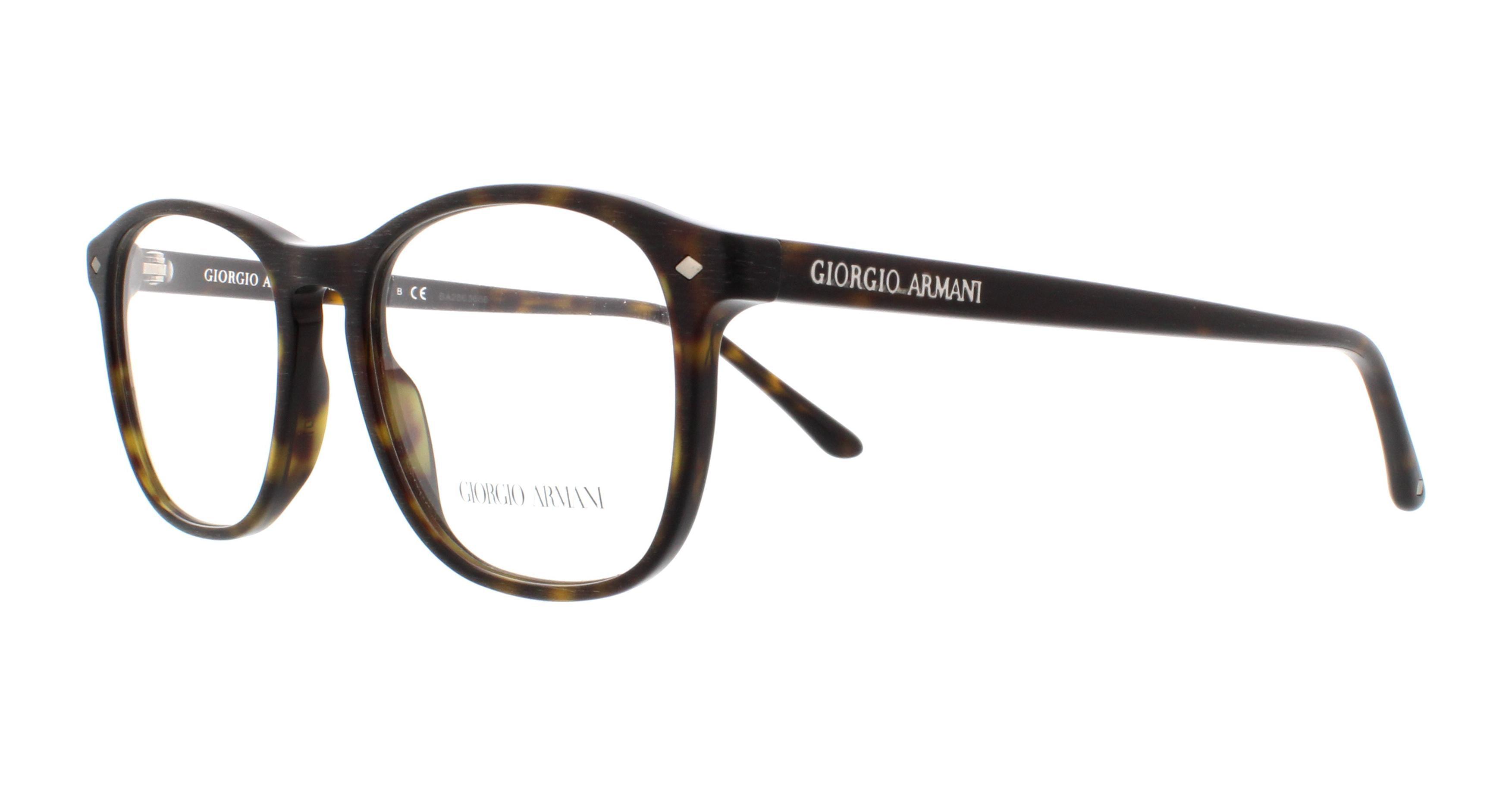 207c75d3e0 GIORGIO ARMANI Eyeglasses AR 7003 5002 Matte Havana 52MM