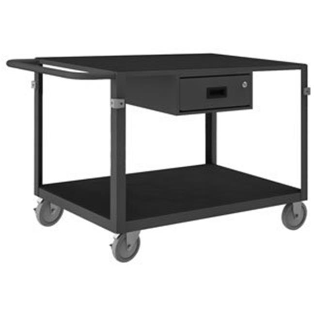 Durham IC24361DR5PU95 34 in. Instrument Cart, Gray - 1000 lbs
