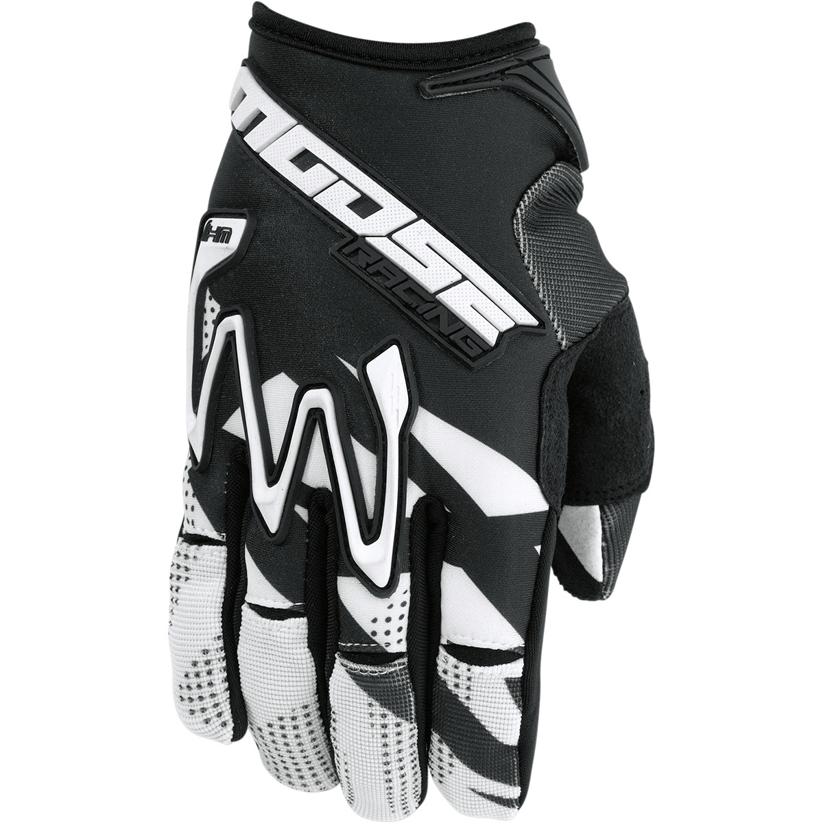 Moose Racing MX1 Offroad Dirt Gloves  Black/White