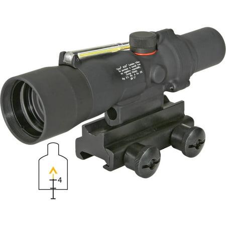 Trijicon ACOG TA33-8 3x30 Riflescope Amber Chevron Reticle .223 BAC w/TA60