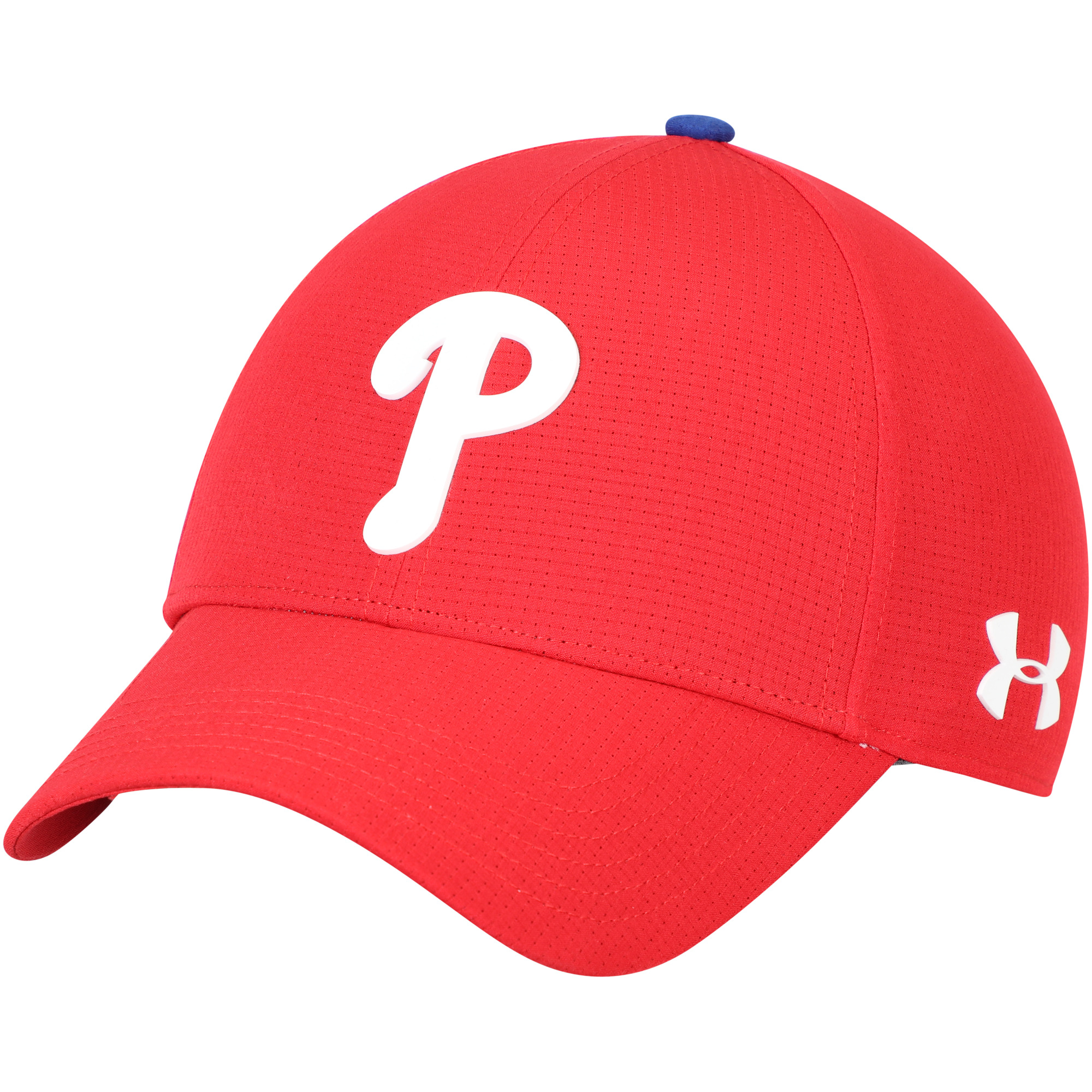 Philadelphia Phillies Under Armour MLB Driver Cap 2.0 Adjustable Hat - Red - OSFA