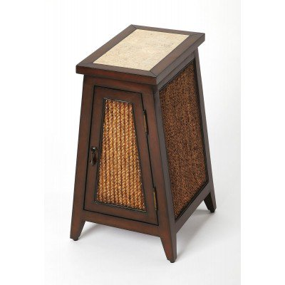 Butler Transitional Mountain Lodge Free Form Medium Brown Accent Table 4397120