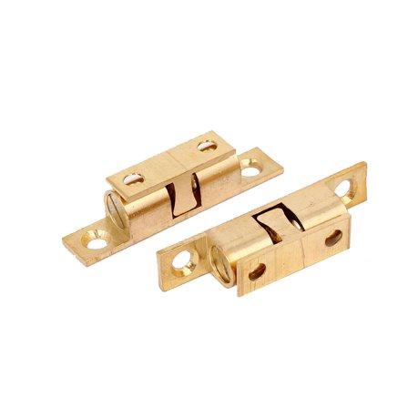 Cabinet door household hardware brass double ball roller for 70mm cabinet pulls