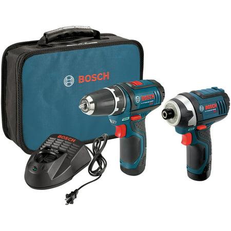 Bosch CLPK22-120 12-Volt Max 2-Tool Li-Ion Cordless Combo (Bosch Tool Kits)