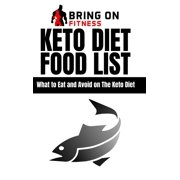 Keto Diet Food List: What to Eat and Avoid on The Keto Diet (Hardcover)