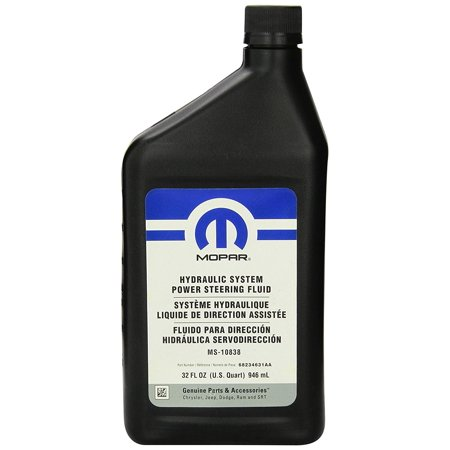 Genuine Mopar Fluid 68234631aa Hydraulic System Steering 1 Quart Oem Dodge Factory Fit Part By Chrysler
