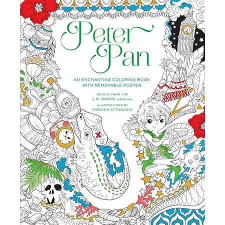 - Peter Pan Coloring Book