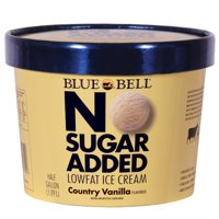 Product Image Blue Bell No Sugar Added Country Vanilla Ice Cream 64 OZ