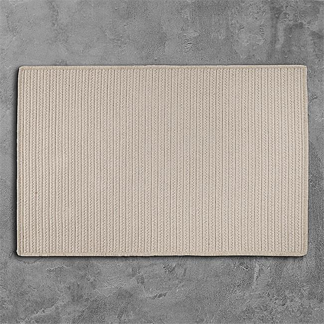 Colonial Mills Rug LS10R096X120S 8 x 10 ft. Sunbrella Solid Braided Rug  Papyrus - image 1 of 1