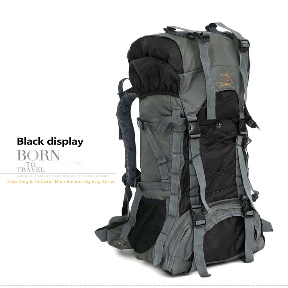 Details about  /60L Digital Camo Waterproof Backpack Rucksack for Camping Hiking Climbing