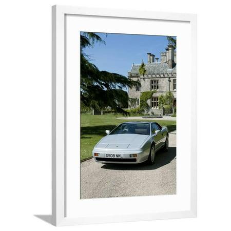 Esprit Model (1989 Lotus Esprit Framed Print Wall Art)