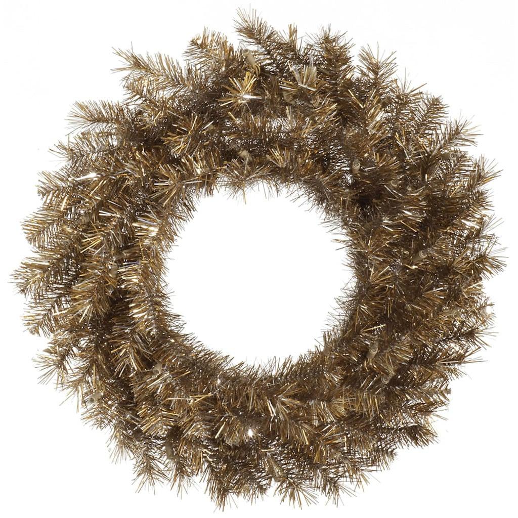 "Vickerman A149160 60"" Metal Mix Tinsel Wreath 720T"