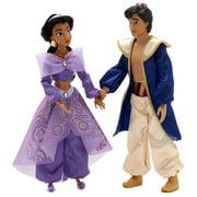 Disney Singing Duet Jasmine & Aladdin Doll Set