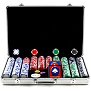 Trademark Poker 650pc 11.5g Hold Em Chips with Executive Aluminum Case