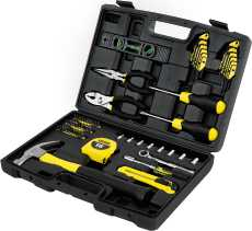 Stanley 65 Pc Mixed Tool Set by Stanley