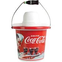 Nostalgia ICMP400COKE Coca-Cola limited Edition 4-Quart Ice Cream Maker