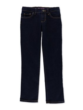 The Children's Place Girls Dark Wash Skinny Fit Jeans, Blue, M (10)