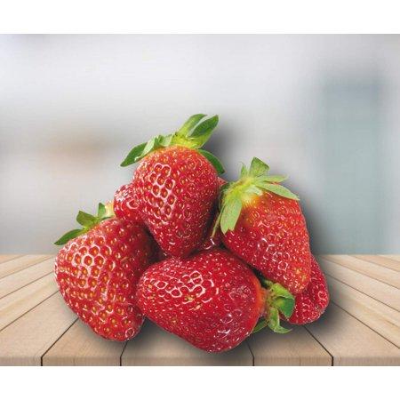 Organic Honeoye Strawberry 315 Seeds +1 Plant Marker