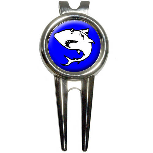Shark Golf Divot Repair Tool and Ball Marker
