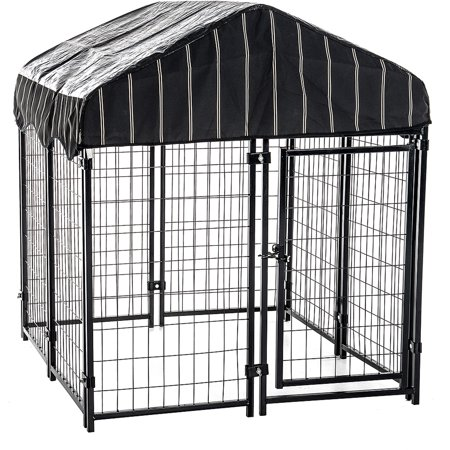 Lucky Dog 52h X 4w X 4l Pet Resort Kennel With Cover Walmart
