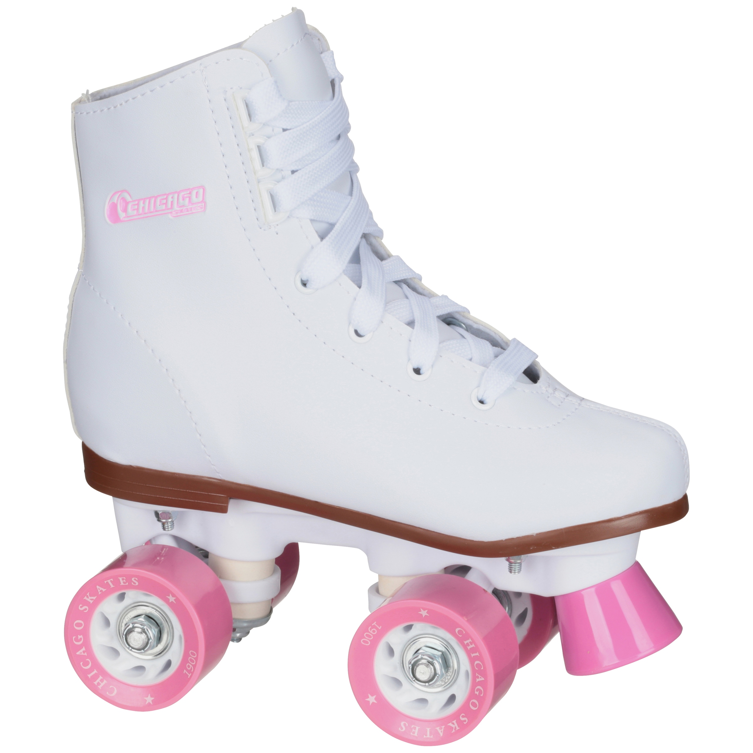 Chicago Skates® Girl's White Size J10 Roller Skates Box