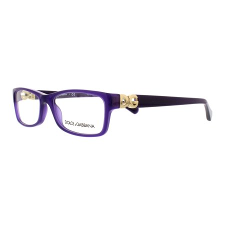 0775ab6d1fc6 DOLCE & GABBANA Eyeglasses DG 3228 2677 Opal Violet 51MM - Walmart.com