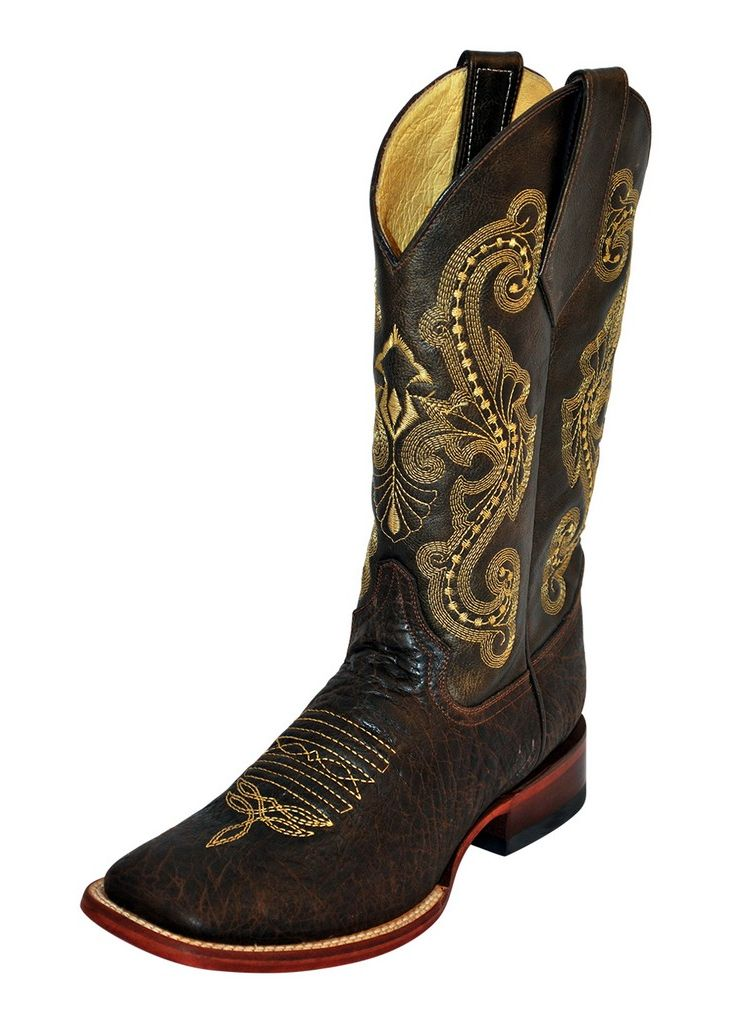 Ferrini Western Boots Mens Acero Cowboy S Toe Chocolate 12093-09 by