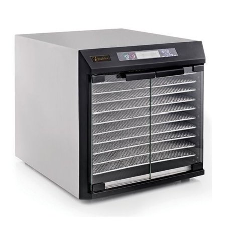Excalibur Commercial 10-tray Stainless Steel Dehydrator - NSF