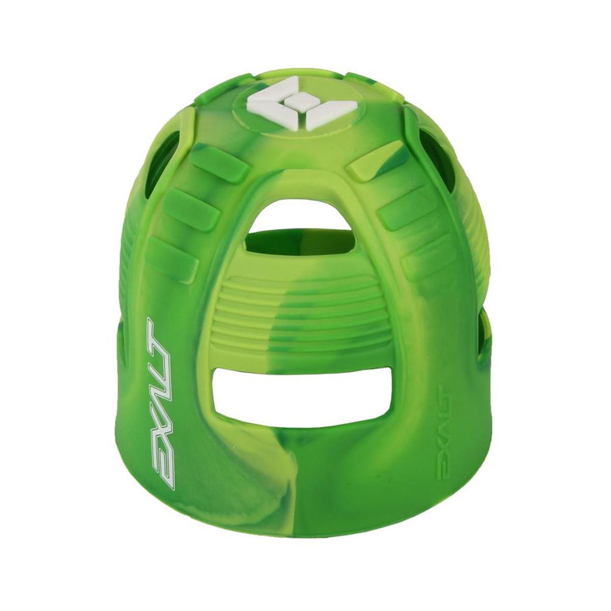 Exalt Paintball Tank Grip 45-88ci Lime Swirl by Exalt