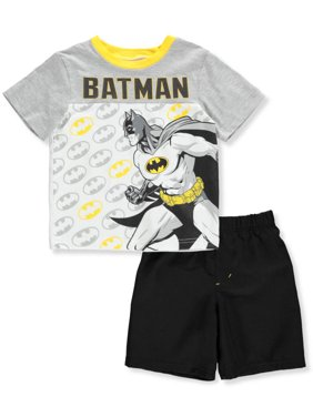 44fa8bd96339b Product Image Batman Boys' 2-Piece Shorts Set Outfit