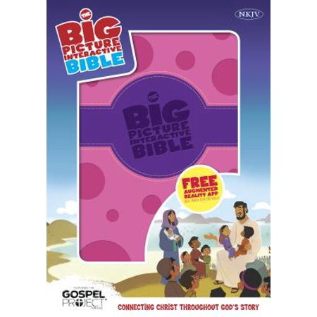 The NKJV Big Picture Interactive Bible, Purple/Pink Polka Dot LeatherTouch : Connecting Christ Throughout God's Story](Big Lebowski De Jesus)