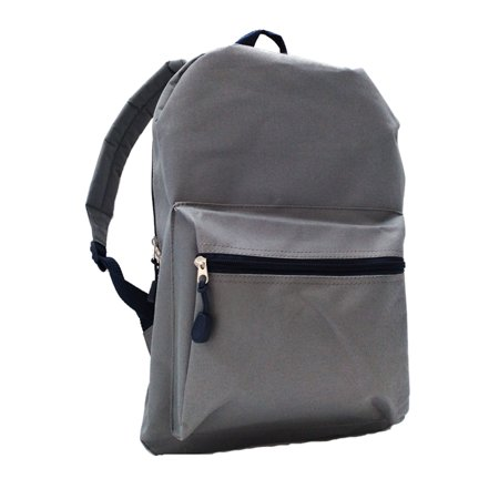 Wonder Nation Large Grey Backpack