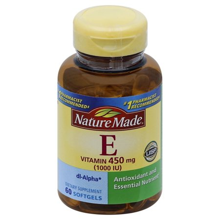 Nature Made - Vitamin E dl-Alpha 400 mg. - 60 Liquid (Best Non Nicotine E Liquid)