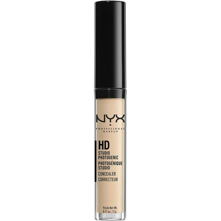 3 Pack - NYX Professional Makeup HD Photogenic Concealer Wand, Fair 0.11 - Concealer Wand