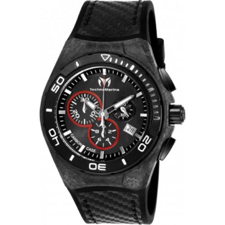 TM-116004 Black Carbon Cruise Collection Swiss Chronograph