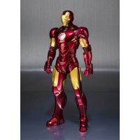 S.H. Figuarts Iron Man Mark IV 4 Hall of Armor Set Action Figure