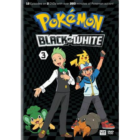 Pokemon Black & White Set 3 (DVD)