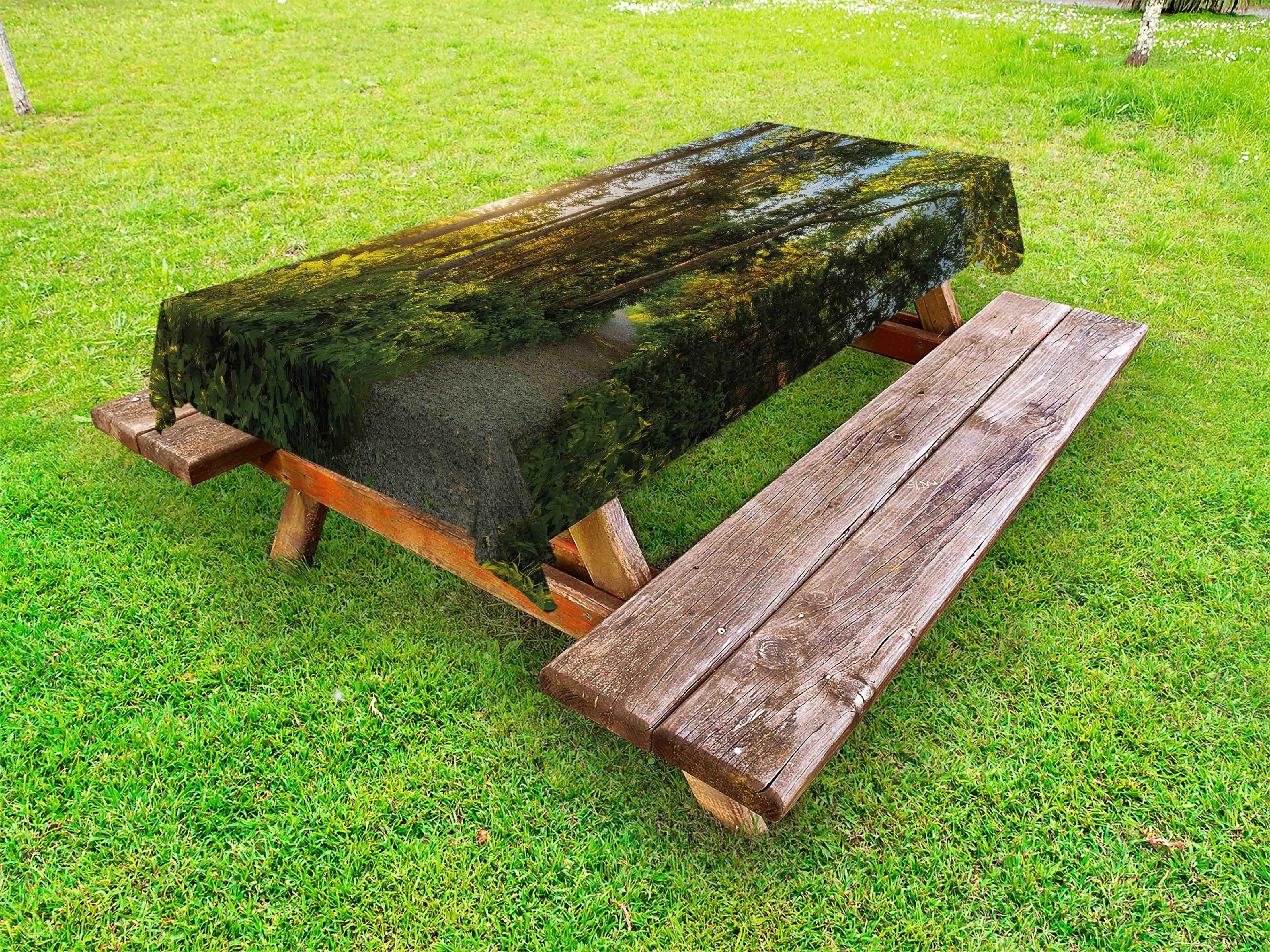 Landscape Outdoor Tablecloth National Park In Cape Breton