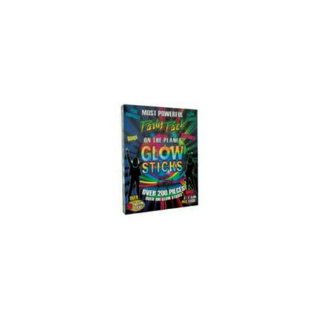 Glow Sticks Party Pack (Over 200 Pieces) - Party Supplies](Paper Wristbands)