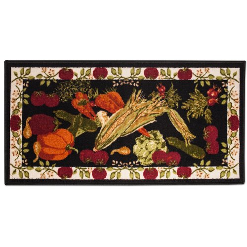 Sweet Home Collection Harvest Design Kitchen Rug Floor Doormat
