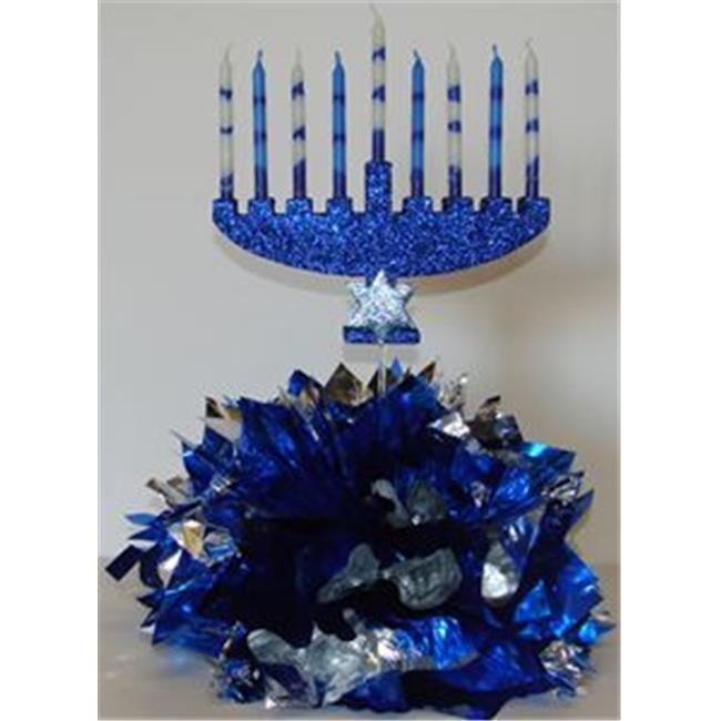 Awesome Events MEN14E Celebrate Hanukkah Centerpiece, 2 Pack