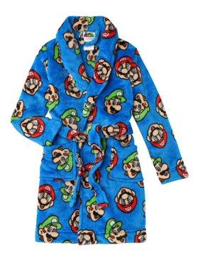 Super Mario Bros. Little & Big Boys Robe