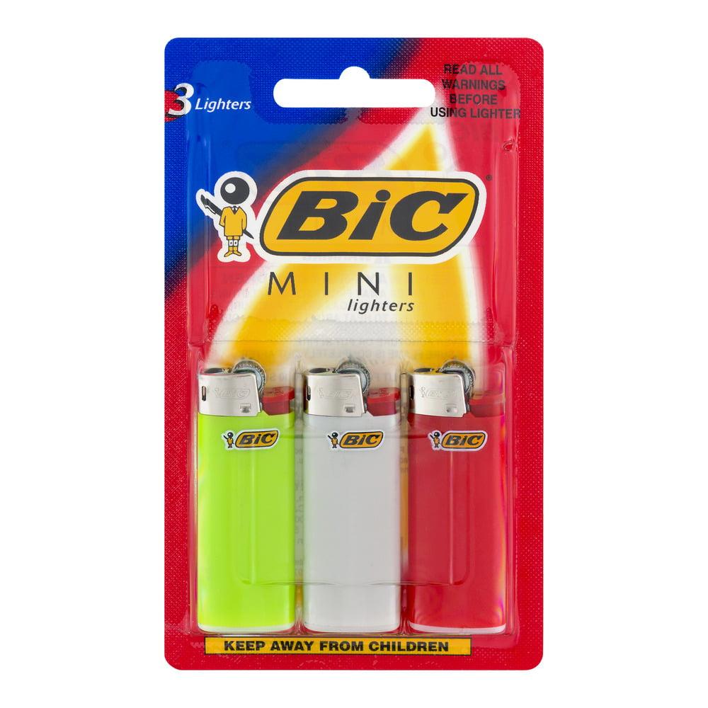 BiC Mini Lighters - 3 CT
