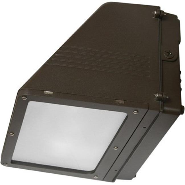 Dabmar Lighting DW1684 8.50 x 14.25 x 11.50 in. 120 V 100 watts Dark Sky Medium Wall Pack Fixture with Metal Halide Lamp, Bronze - image 1 of 1